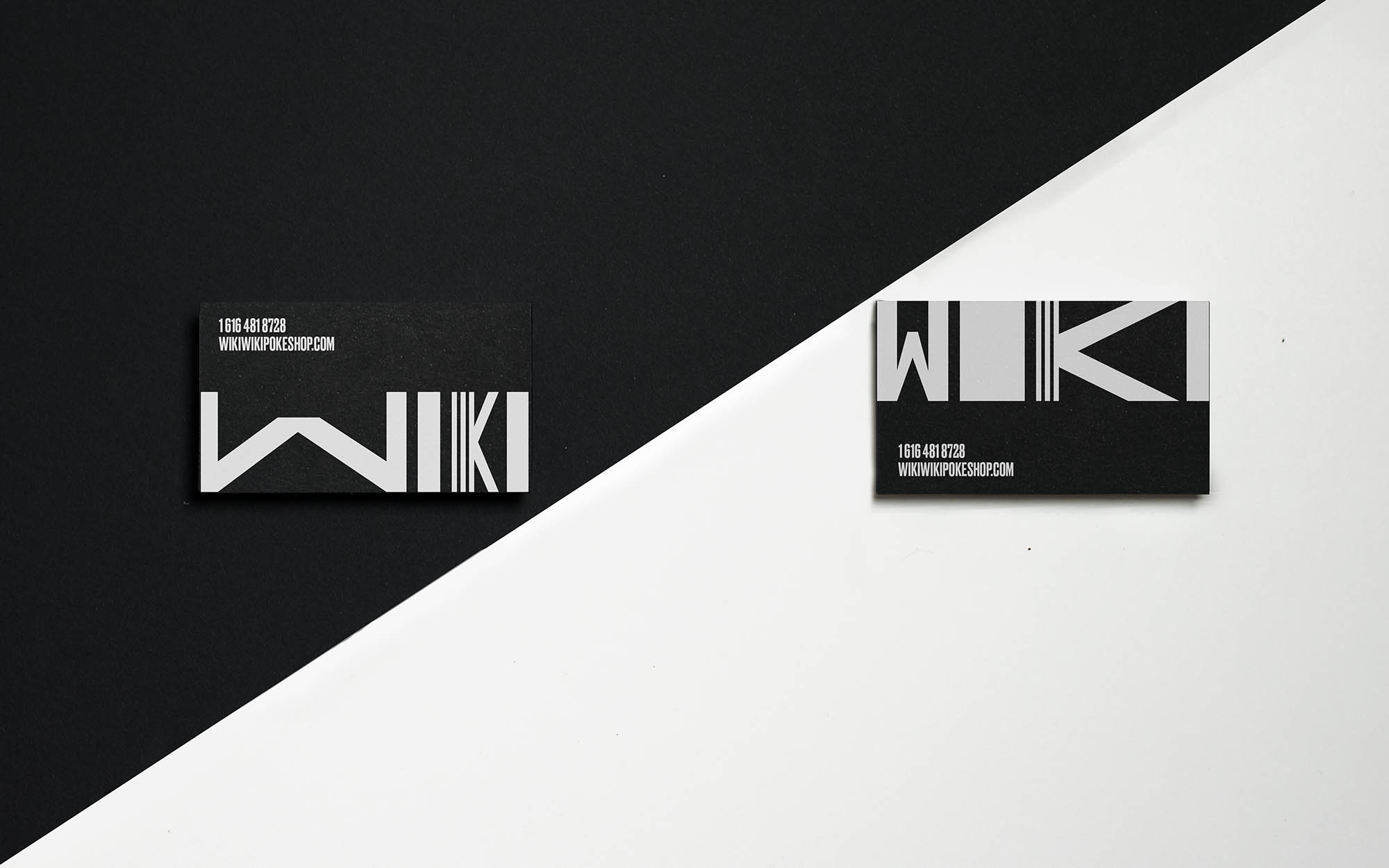 Wiki Wiki Poke Shop - Business cards